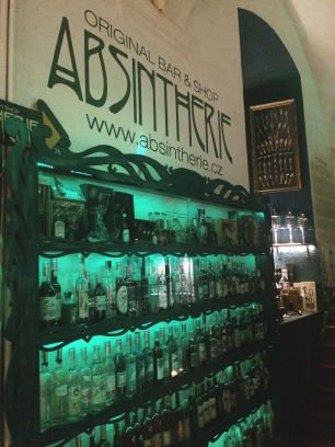 Absintherie in Prague, Czech Republic - Travel Itinerary