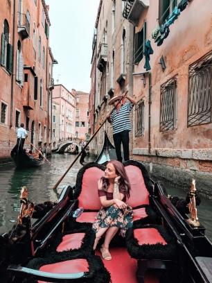 Gondola Ride - Venice, Venezia, Italy