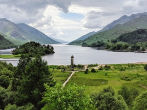 Glenfinnan Monument - Inverness-shire, Scotland