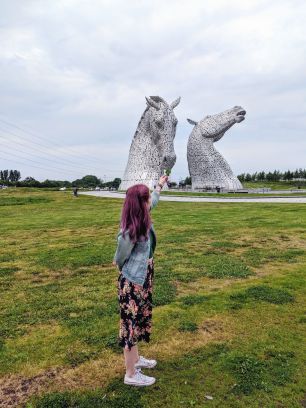 The Kelpies - Falkirk, Scotland, UK