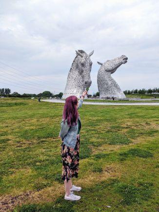 The Kelpies - Falkirk, Scotland, UK