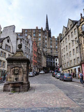 Victoria Street, Edinburgh, Scotland, UK