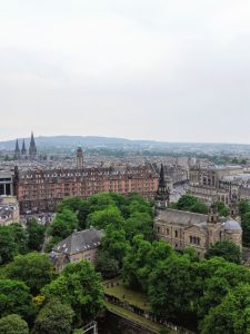 View from Edinburgh Castle, Scotland, UK