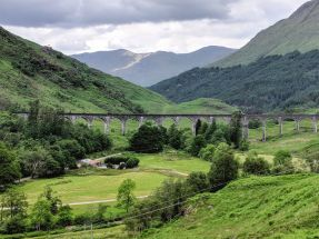 Glenfinnan Viaduct - Inverness-shire, Scotland