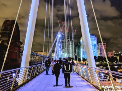 Millennium Bridge - London, UK - September 2018