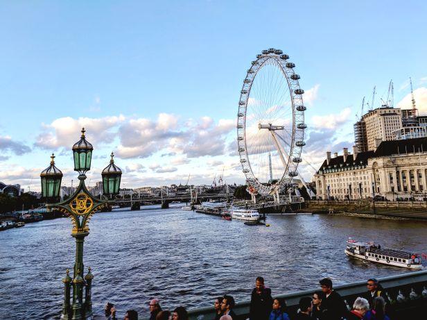 The London Eye - London, UK - September 2018