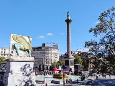 Trafalgar Square - London, UK - September 2018