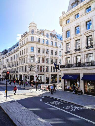 Regent Street - London, UK - September 2018