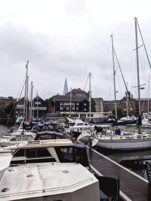 St Katharine Docks Marina - London, UK