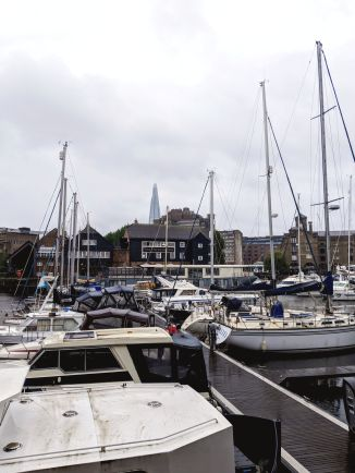 St Katharine Docks Marina - London, UK