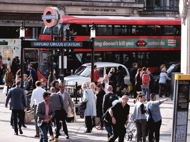 London Underground - Oxford Circus