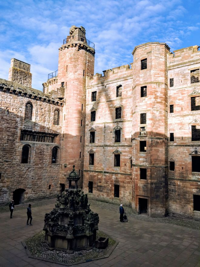 Linlithgow Palace, Linlithgow - Outlander Filming Location