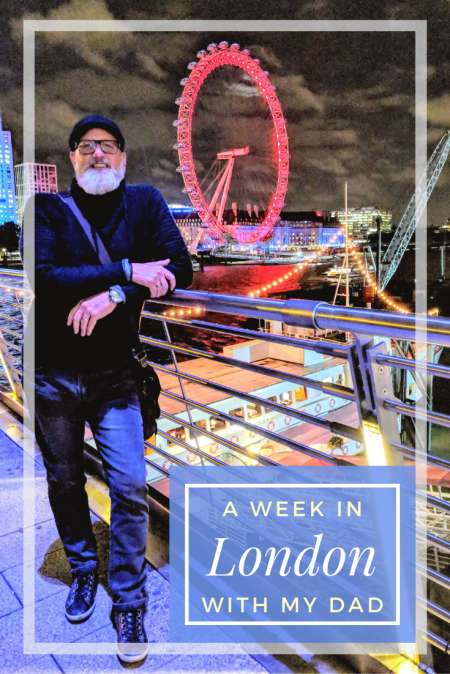 A Week in London, UK with my Dad