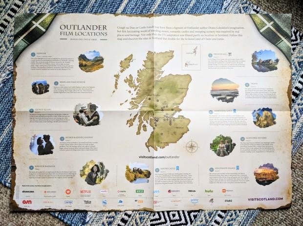 Outlander Film Locations - Scotland, UK
