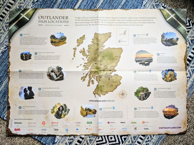 Outlander Film Locations - Scotland, UK