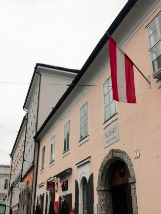 Mozarts Wohnhaus - Salzburg Austria