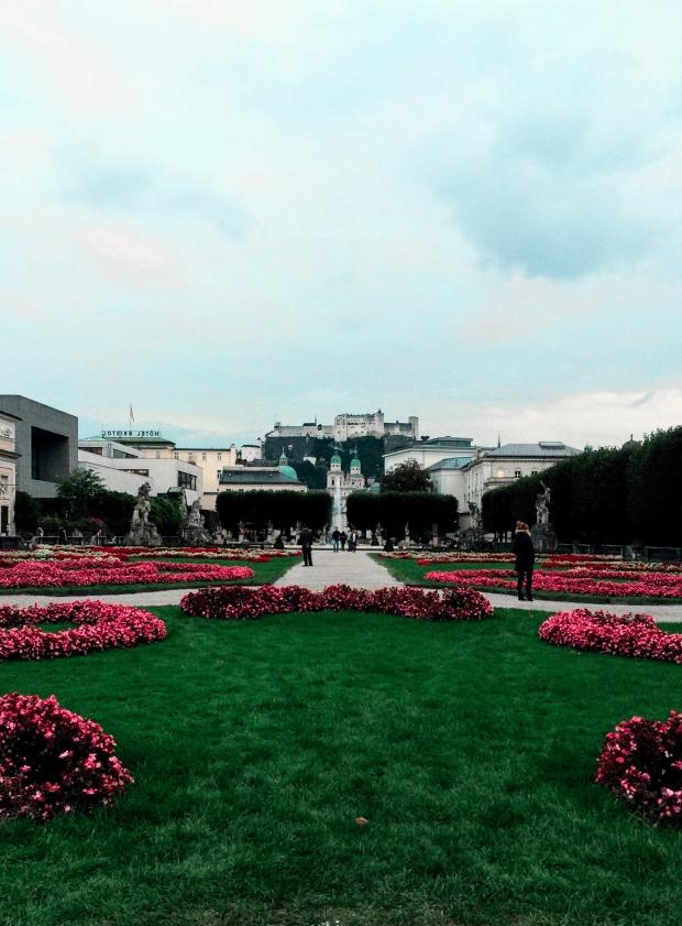 Mirabell Garten - Salzburg Austria