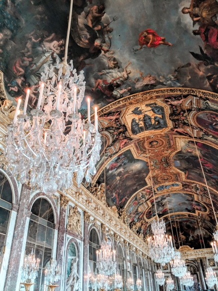 The Hall of Mirrors The Palace of Versailles - Paris, France