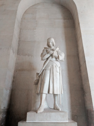 Joan of Arc Statue - The Palace of Versailles - Paris, France