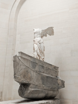 Nike of Samothrace at The Louvre - Paris, France